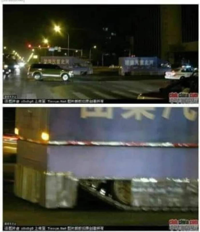 Chinese government is moving their trucks to Hong Kong. Those trucks must be full of candy.