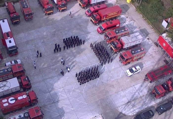 Romania sent 110 firefighters along with firetrucks to Greece, to help fight the wildfires. Thanks Romania!