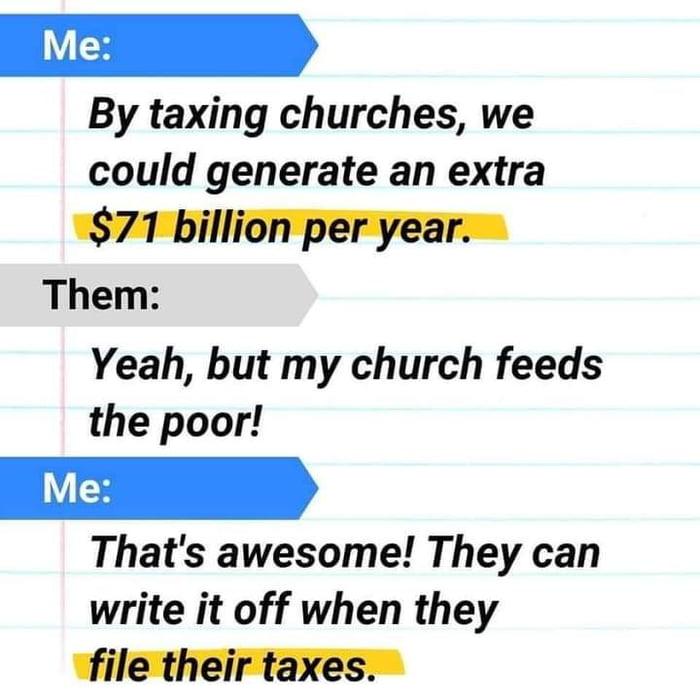 Tax them all