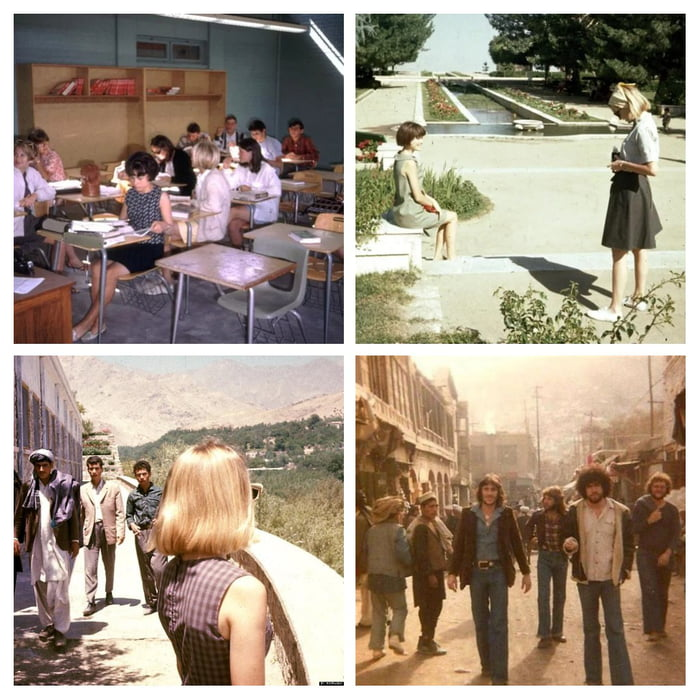 This was Afghanistan in the 1960s