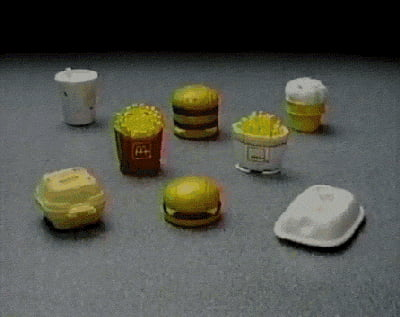 McDonald's Changeables from 1987