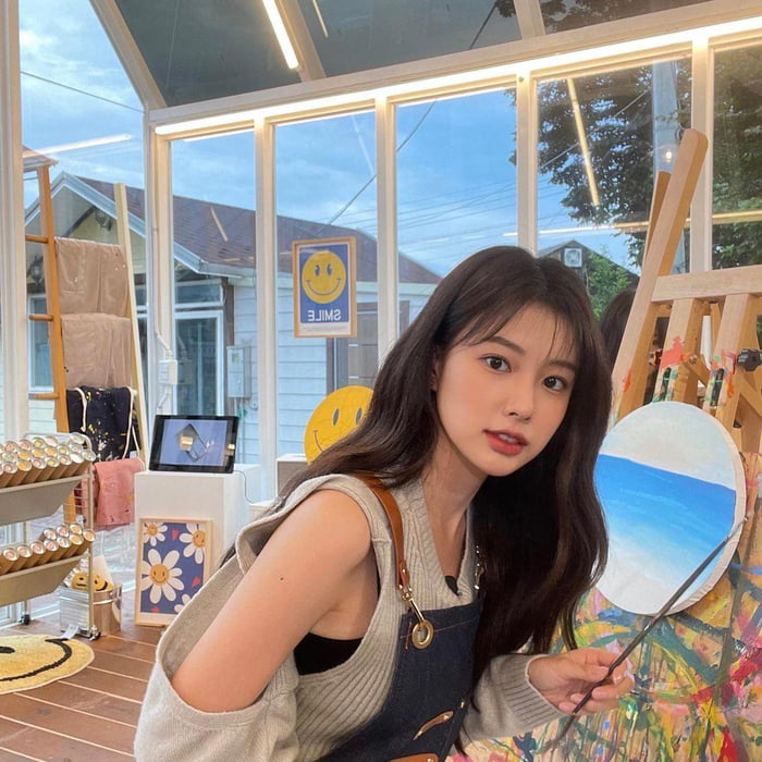 Photo : 211012 Kang Hyewon Instagram Update