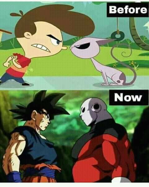 The first time seeing jiren I thought of this show!