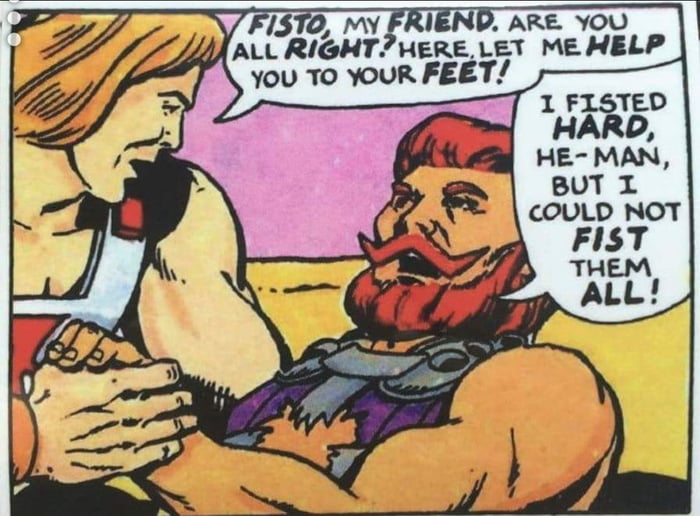 Damn it, Fisto