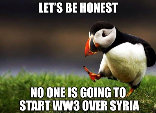 With everyone worrying about WW3 lately..