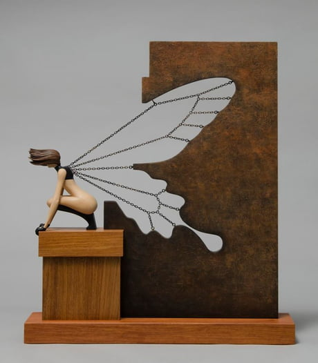 A Wonderful Little Sculpture by John Morris