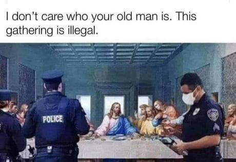 Judas tipped them off