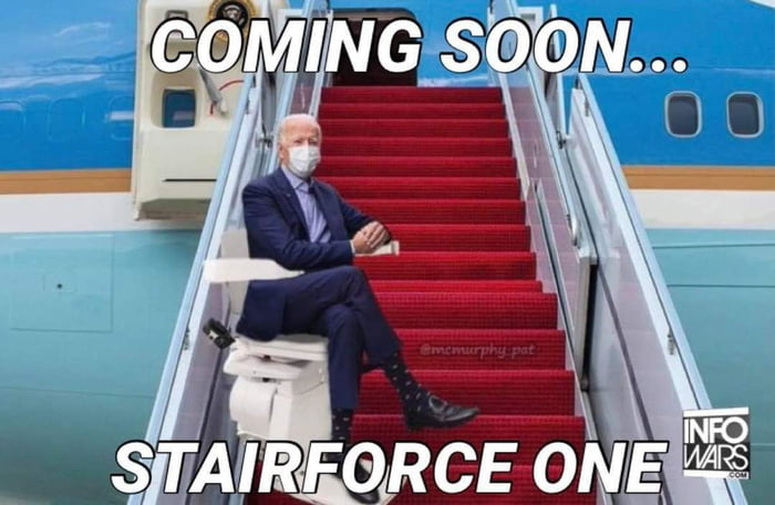 STAIRFORCE ONE!! LMAO!!