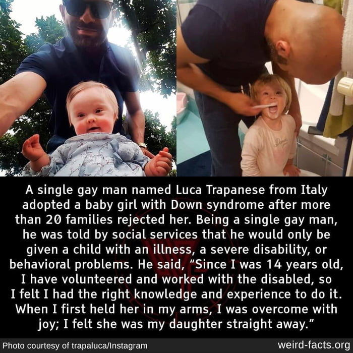 His name is Luca, he lives on the heaven floor