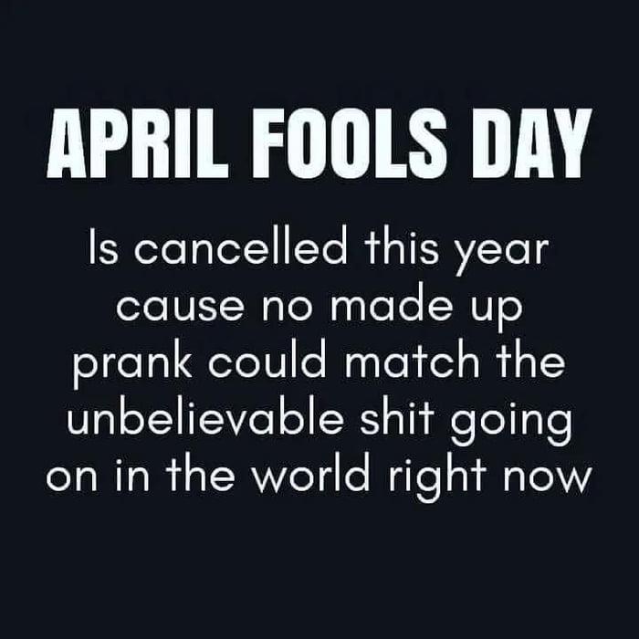 Keep Calm and Screw April Fools