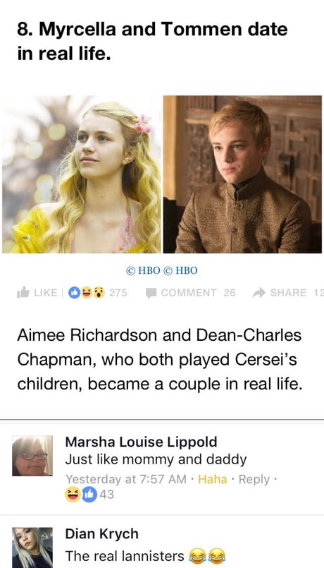 The True Lannisters