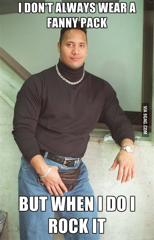 The Rock was such a cute girl back in the day... oh wait..