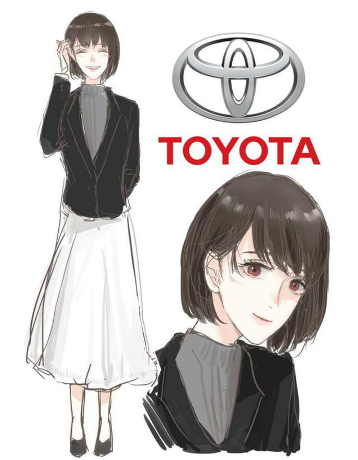 - Different Car Brands Reimagined As Anime Characters