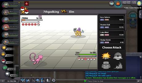 A Game Like Pokemon Revolution Online Looks Like A Bad Level Rom Hack 9gag