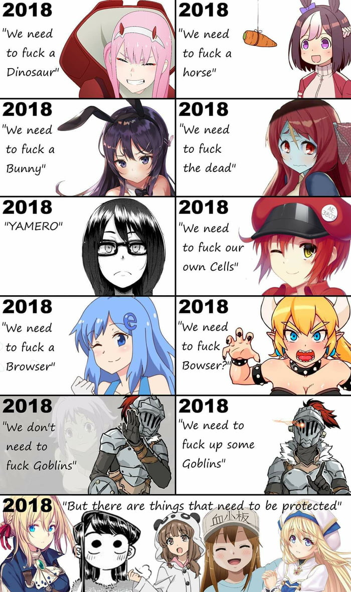 2018 is a great year for waifus