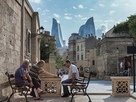 Awesome The Old and New Baku