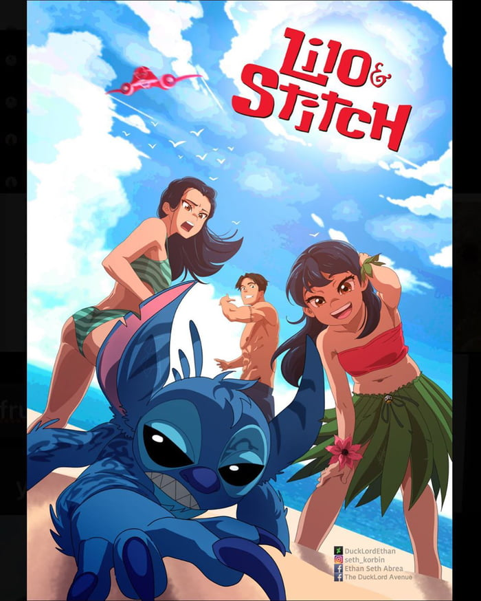 Artist Recreates Disney Films As Anime