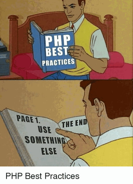 PHP Best Practices