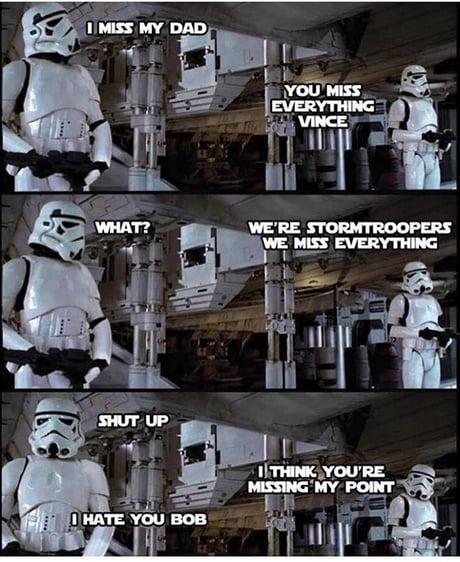 Make star wars fans laugh again