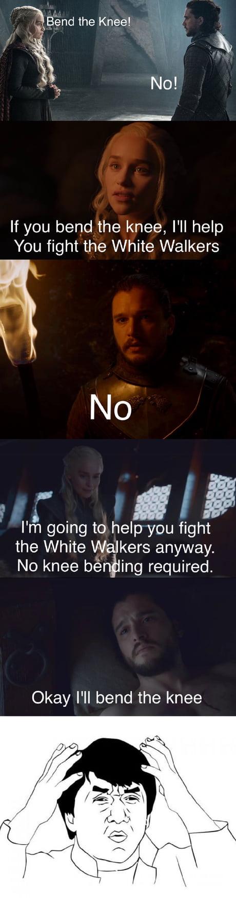 Jon Snow, worst haggler in history.