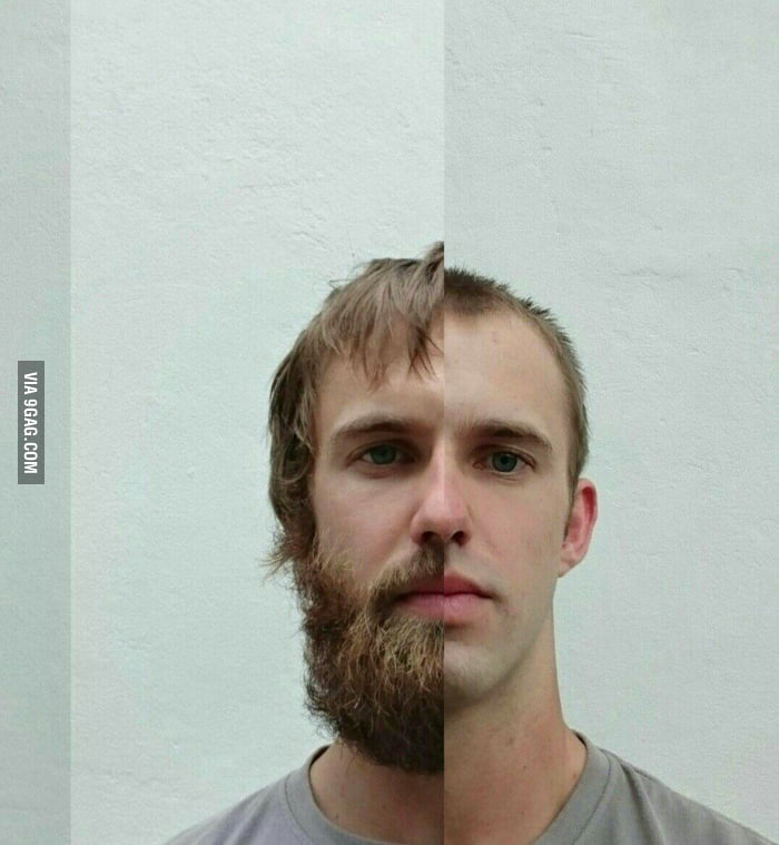 After 3 months I let go of my manliness