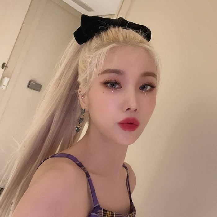 Photo : Eunbi sexy lips