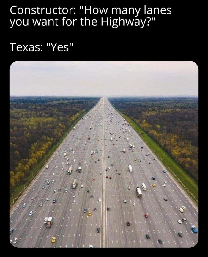And I bet some morons still drive slow on the left lane