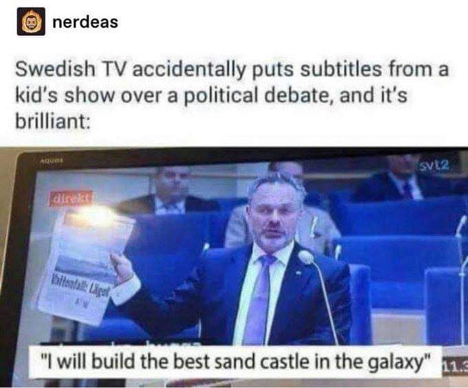 There are better ideas and plans from the kids' show than from the politicians filthy mouths.