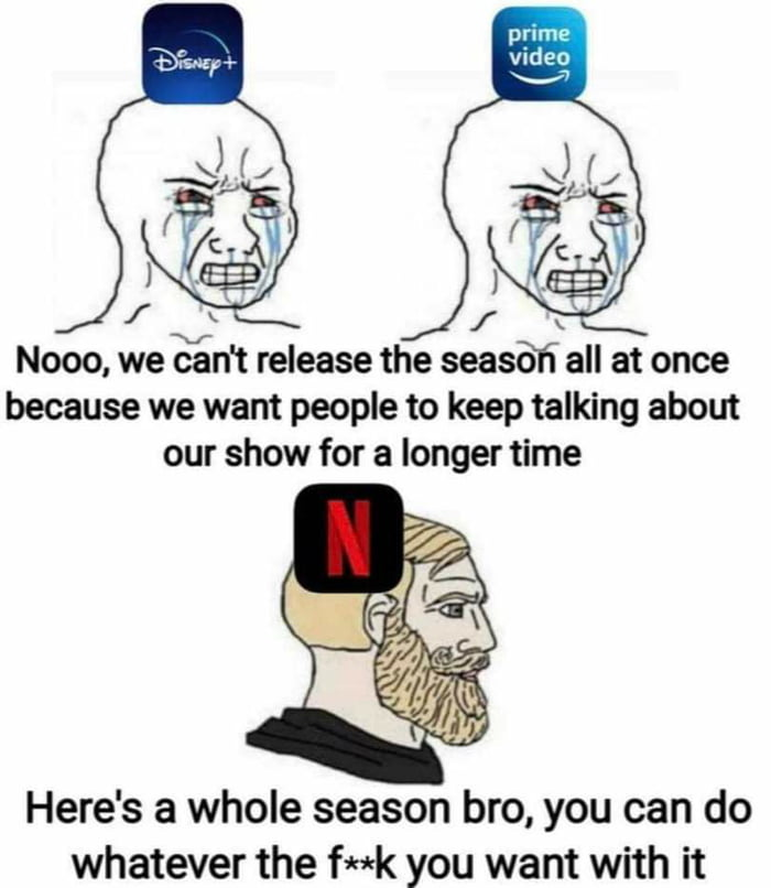 Netflix being a good guy for once