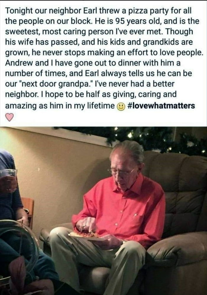 This man is the nicest person on earth