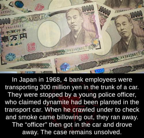 Greatest Bank Heist in Japanese History!