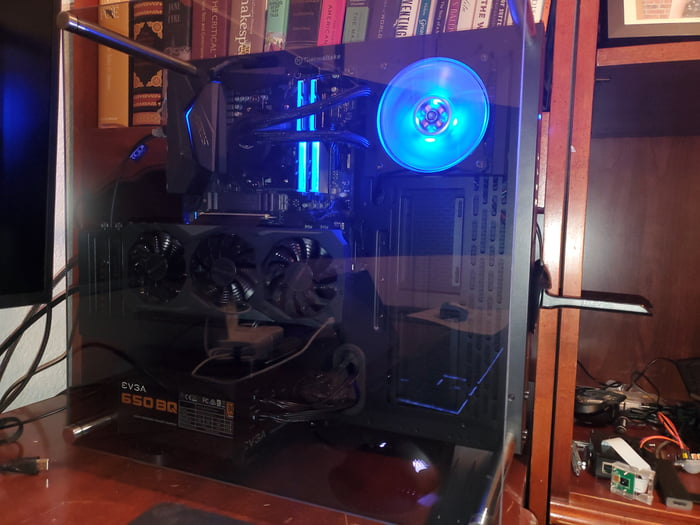 Made A Build With Nzxt H510 Now Every Build I See Has That Case So I Switched Out Going To Swap To 3080 Also