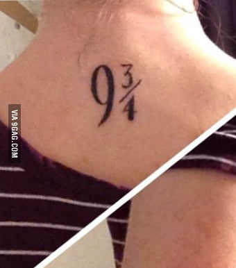 To The Girl With The Deathly Hallows Tattoo My Friend Got This Tattoo 9gag