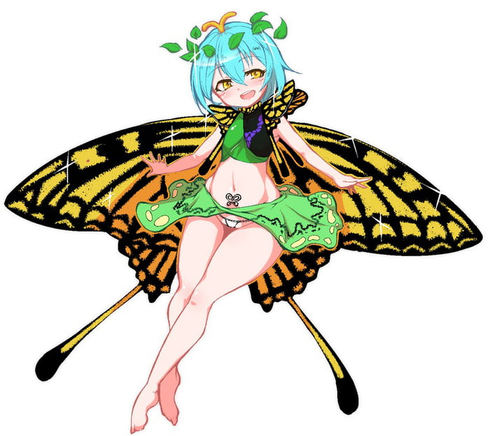 One of two smart fairies. Granted, she may not actually be a fairy.
