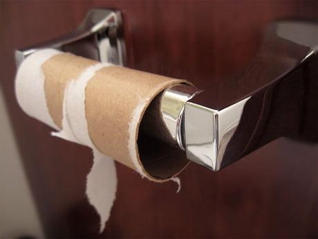 Test penis toilet roll Girth vs.