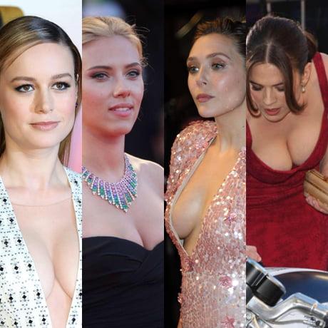 Brie Larson Scarlett Johansson Elizabeth Olsen And Hayley Atwell 9gag