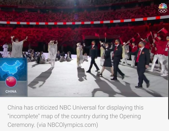 Good job NBC.... hopefully they dont change this