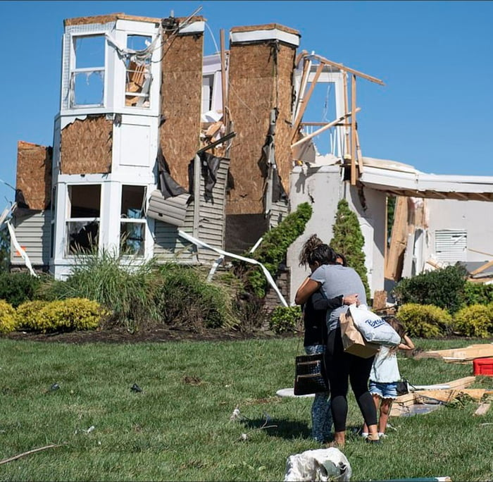 Why don't americans build houses to withstand the weather they have every year instead out of chipboard.