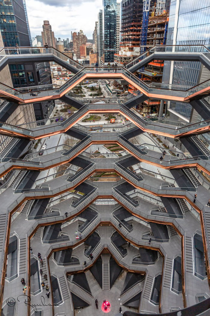 The Vessel, a $200 million staircase that keeps getting closed due to suicides