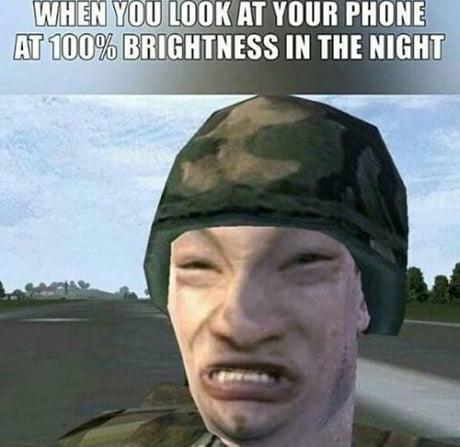 I THINK I'M BLIND... AHHHHHHHHHHHHHHHHHHHHH