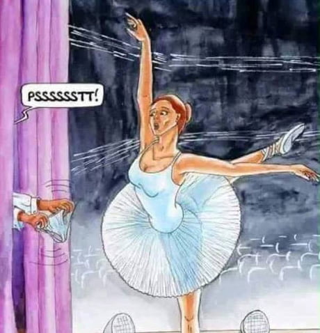 The forgetful ballerina