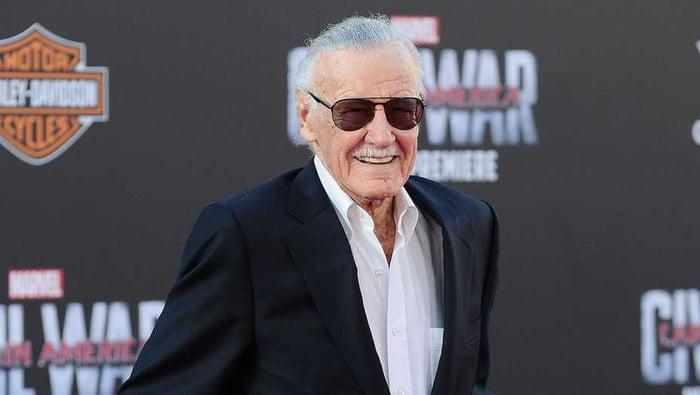 Good bye Stan Lee.