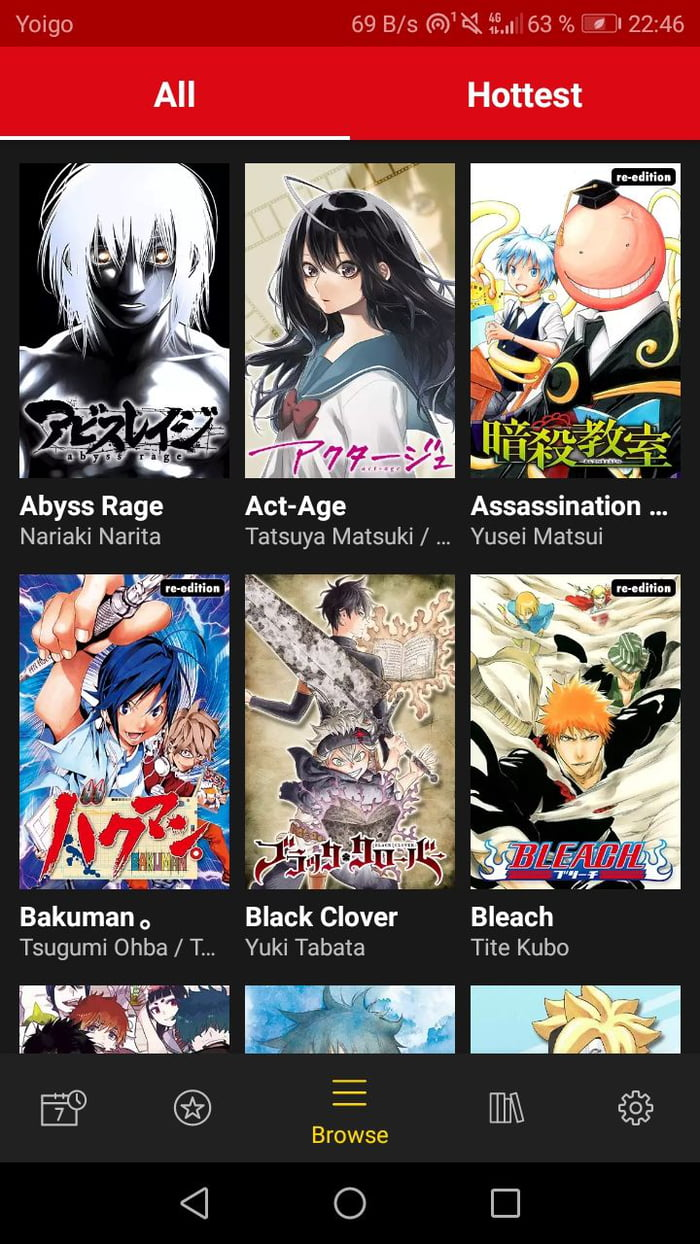 Imagini amuzante si haioase - (Manga PLUS) There's an official app with Manga of some of the most popular series like Bleach, Hunter x Hunter, One Piece, Boku no Hero and more. Only in English for now and only first and last episodes. Hope you find this info useful
