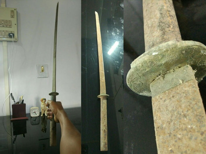 I found this katana on a trek to an old Indo-japan war site. Should I keep it or give it to a museum?