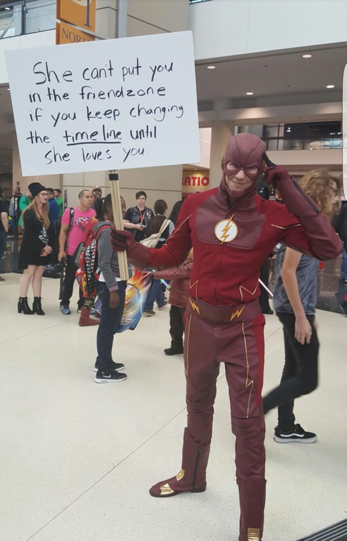The Flash has it figured out