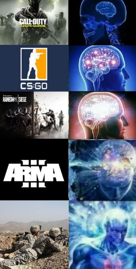Arms 3? What are you? A casual?