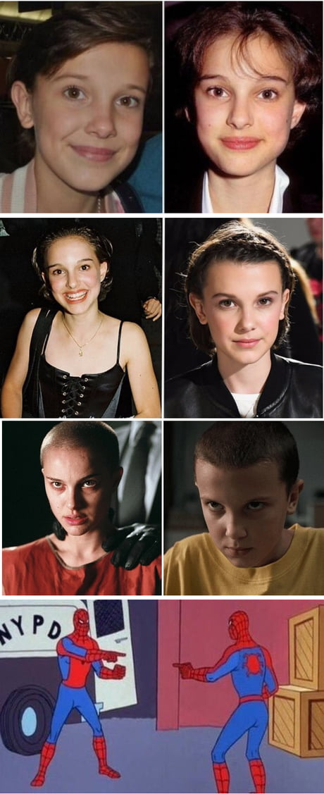 Millie Bobby Brown or Natalie Portman. We need answers