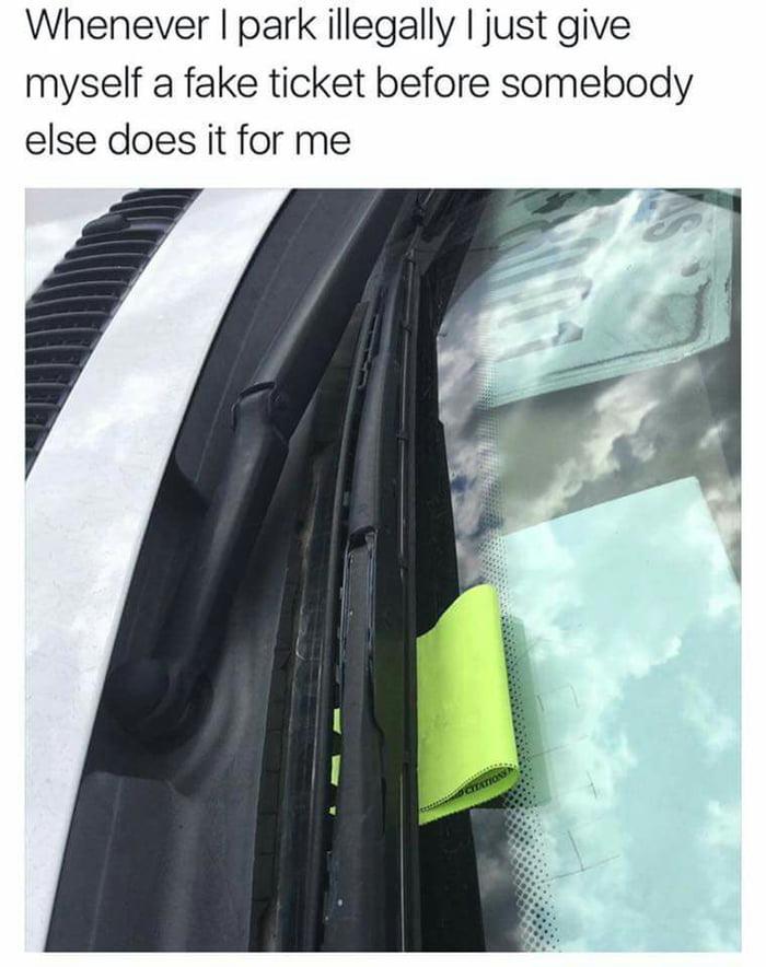如何正确地违法停车