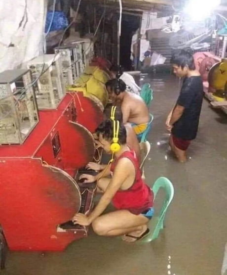 When gaming is life