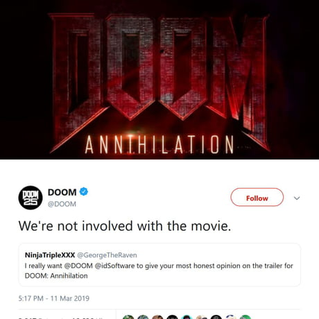 Sighs I Just Want A Good Doom Movie Is That Too Much Asked For